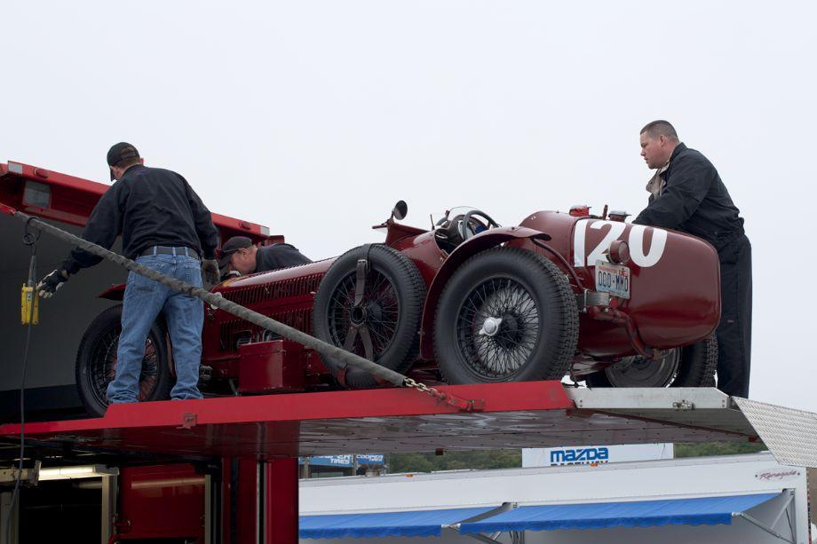 Set Up Day At 2013 Monterey Motorsports Pre Reunion