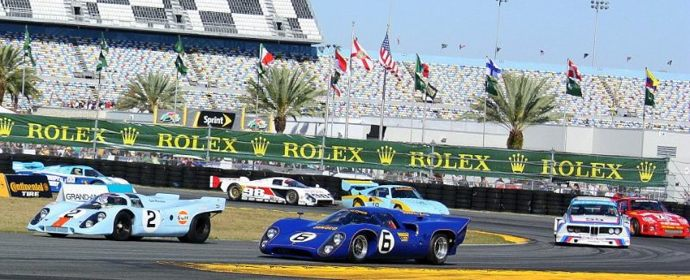 Rolex 24 at Daytona 50th Anniversary Heritage Display Parade Laps