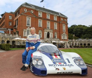 Derek Bell with Rothmans Porsche 956-001