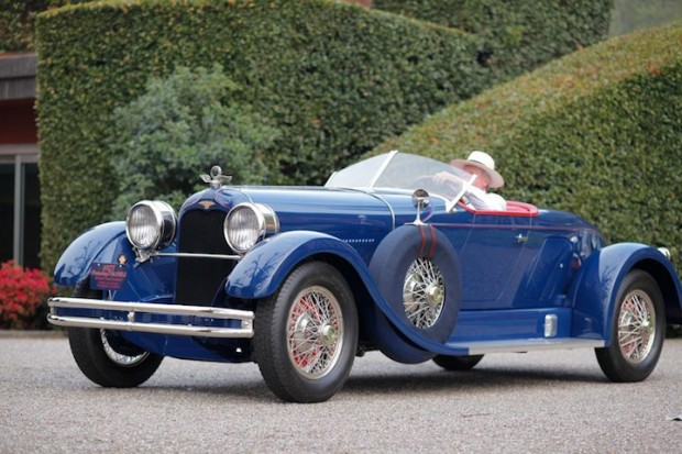 1927 Duesenberg X Straight 8 Boat-Tail Roadster