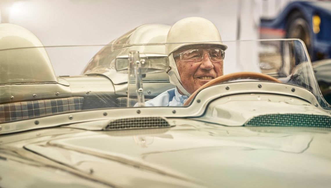 'Permagrin' from Sir Stirling Moss at Goodwood Festival of Speed 2015