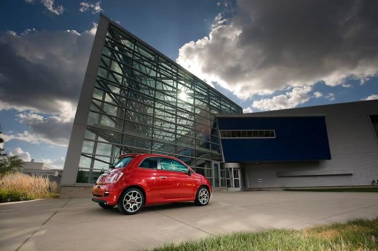2014 Fiat 500 Sport - Rear 1/4 View