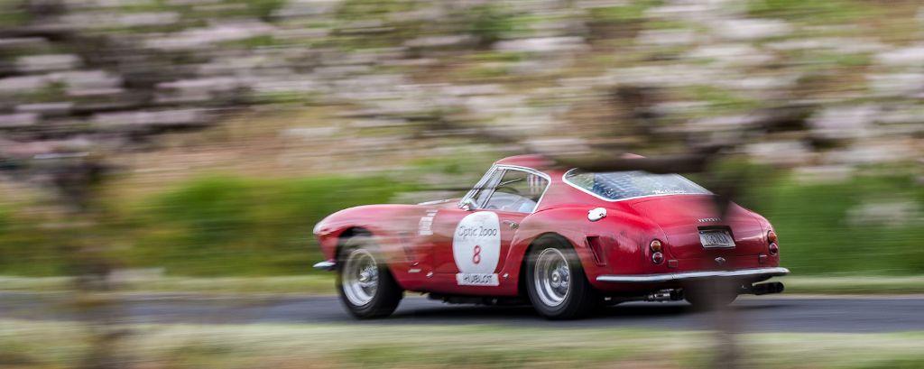 Ferrari 250 GT SWB Berlinetta on Tour Auto Rally 2013