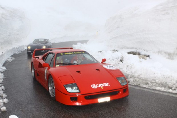 Ferrari F40 and Ferrari 275 GTB