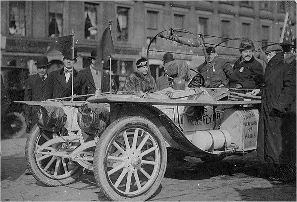 American Thomas Flyer race car