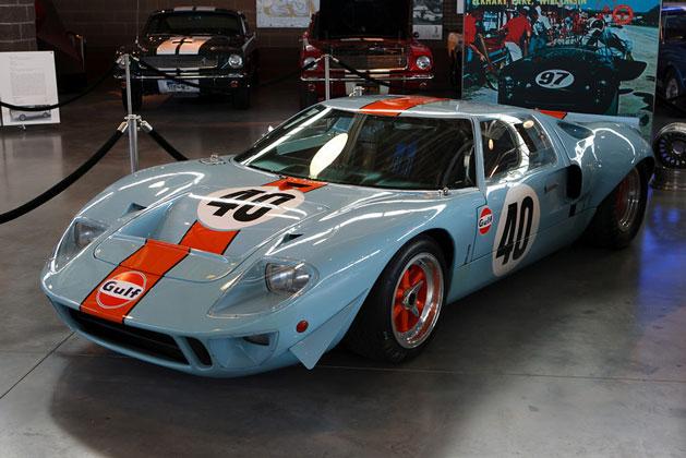 Larry Miller Ford >> Eleven Million Dollar Ford Gt40 At Larry Miller Museum