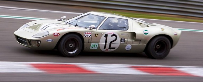 Ford GT40 at Spa Classic 2011