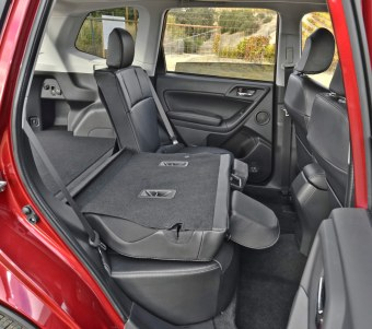 Fold-Down Rear Seats