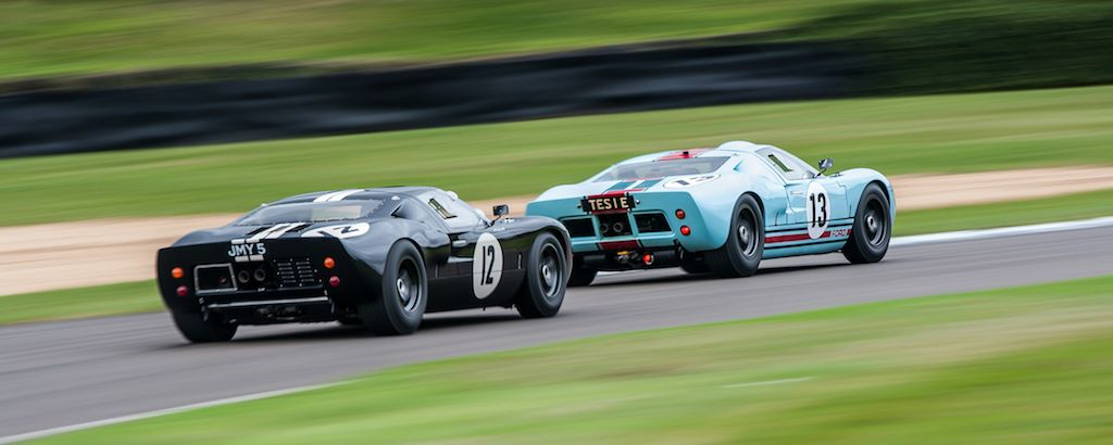 Ford GT40 Race at 2013 Goodwood Revival