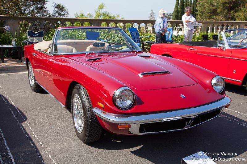 Ann & Jim Gianopulos' 1965 Maserati Mistral Spyder