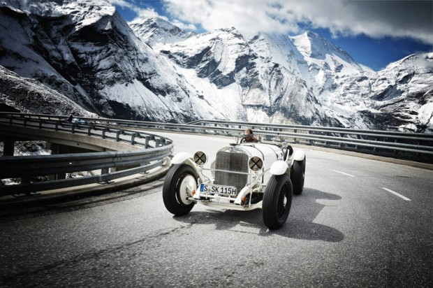 1928 Mercedes SSK at Grossglockner 2012