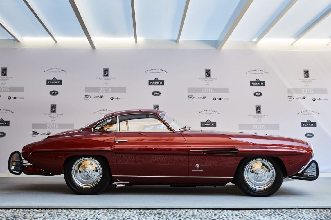 1954 Fiat 8V Supersonic by Ghia