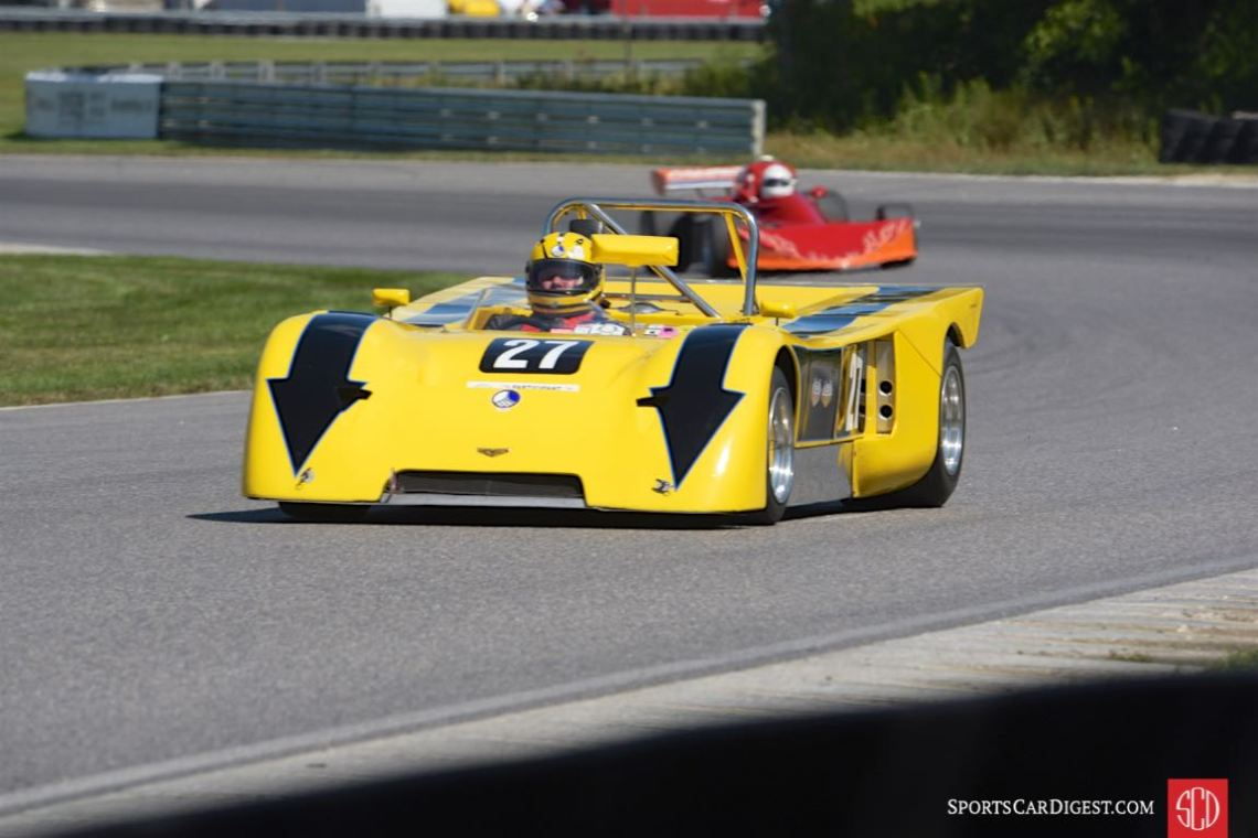 1971 Chevron B19- Larry Kessler.