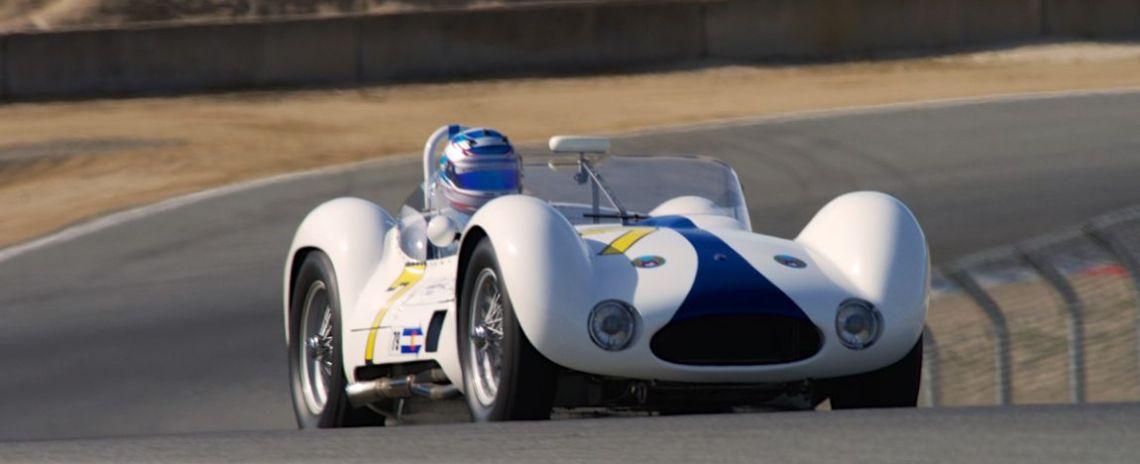"Jonathan Feiber's Maserati Tipo 61 ""Birdcage""."