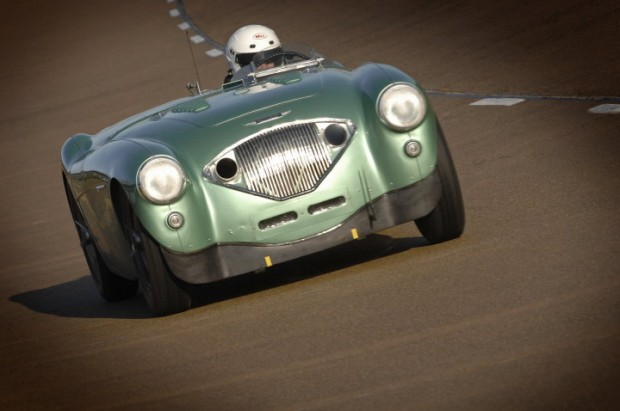 Close-up shot of the Healey Endurance