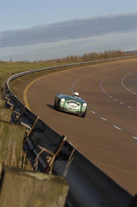 Healey Endurance at Millbrook Proving Grounds