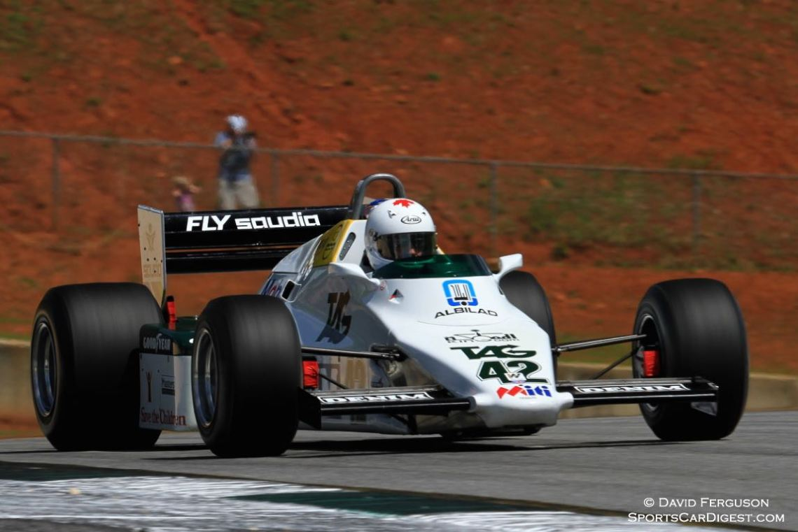Cal Meeker, 83 Williams FW08