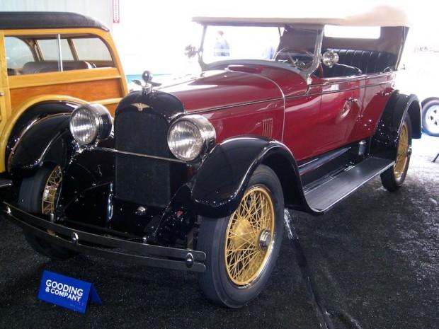 1925 Duesenberg Model A Touring