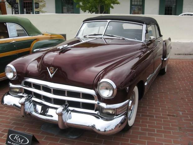 1949 Cadillac Series 62 Convertible Coupe
