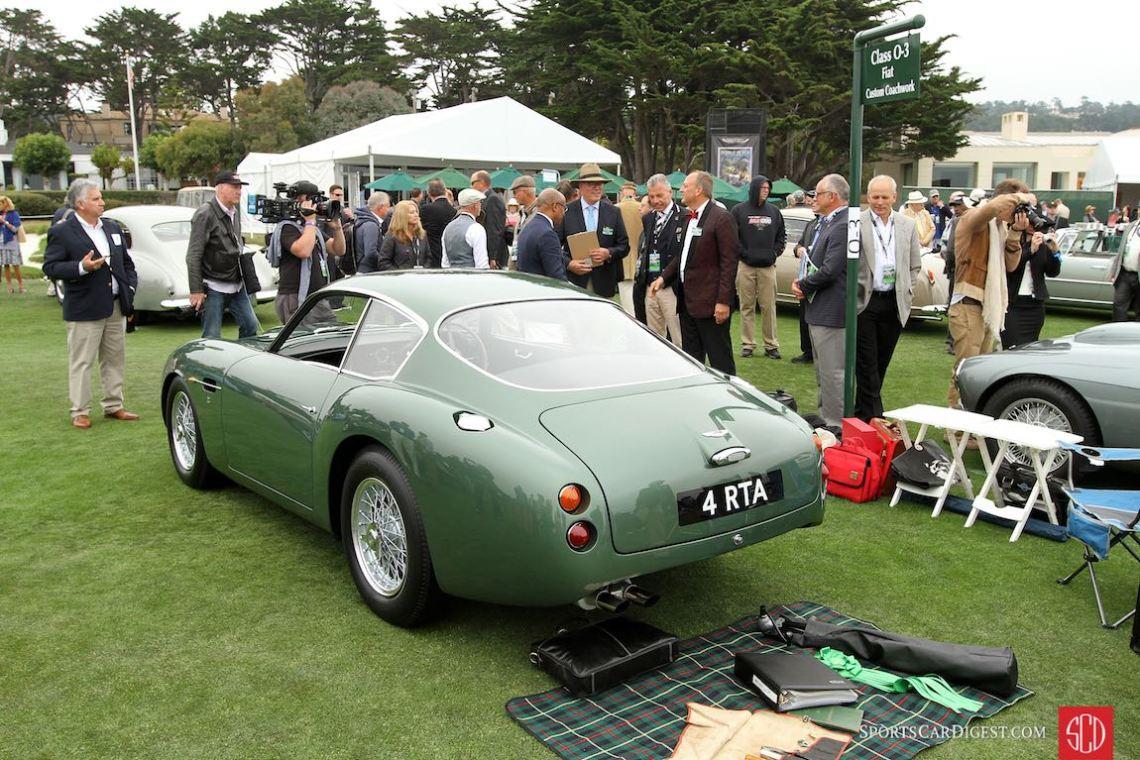 1962 Aston Martin DB4GT Zagato Coupe