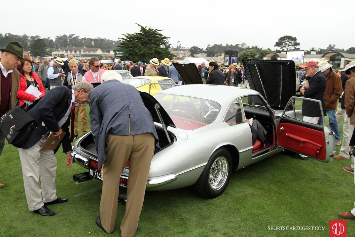 Scrutinizing the 1963 Ferrari 400 Superamerica Pininfarina Coupe Aerodinamico