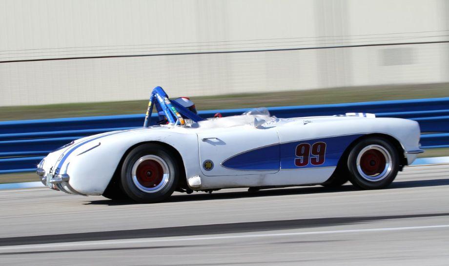 Bob Wechsler, 57 Chevrolet Corvette