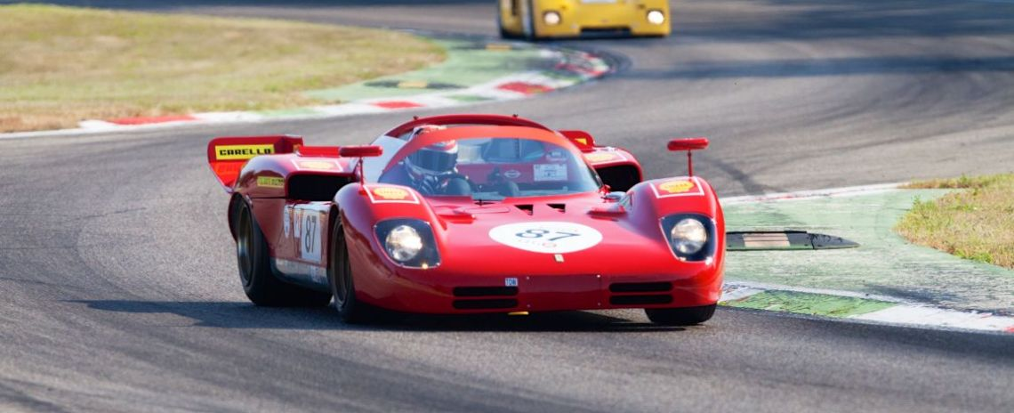 1970 Ferrari 512 S at Monza Historic 2015