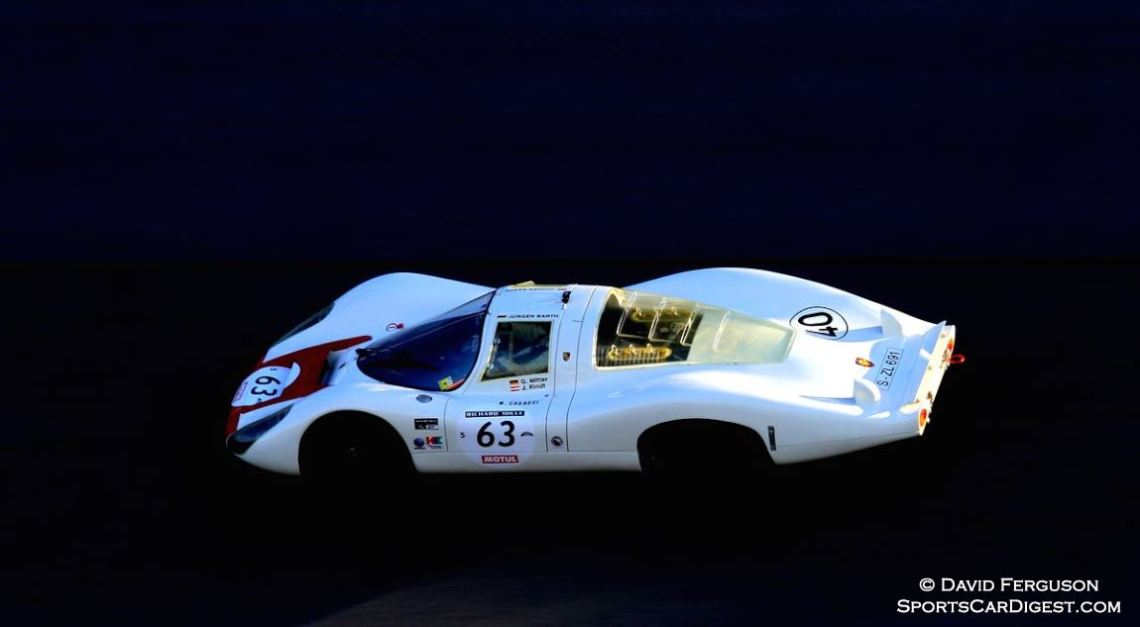The essence of a 1967 Porsche 907 LH