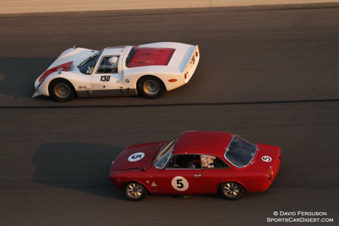 Porsche 906 and Alfa Romeo GT