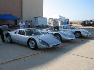 Porsche 904 GTS, RSK and Abarth GTL
