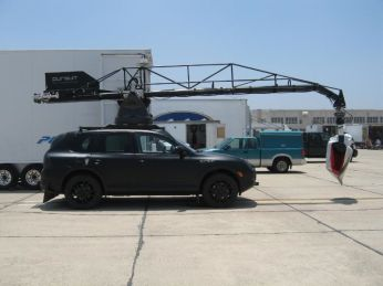 Porsche Cayenne served as Camera Car