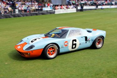 1968 Ford GT40, chassis P/1075, won Best of Show Concours de Sport at the at the 2013 Amelia Island Concours d'Elegance (photo: Al Wolford)