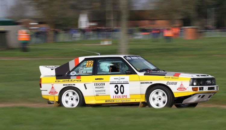 Rally Stage at Race Retro 2016