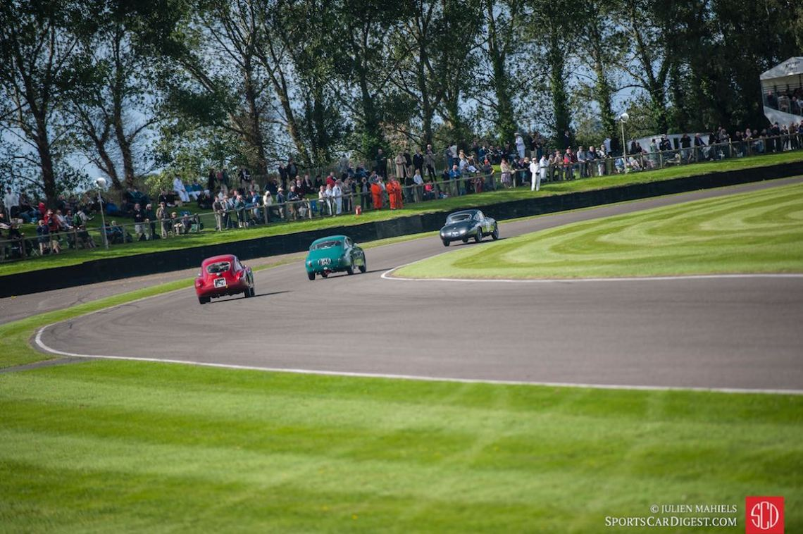 1953 Frazer Nash Le Mans Coupe, 1953 Lancia Aurelia B20GT and 1954 Fiat 8V Berlinetta Coupe