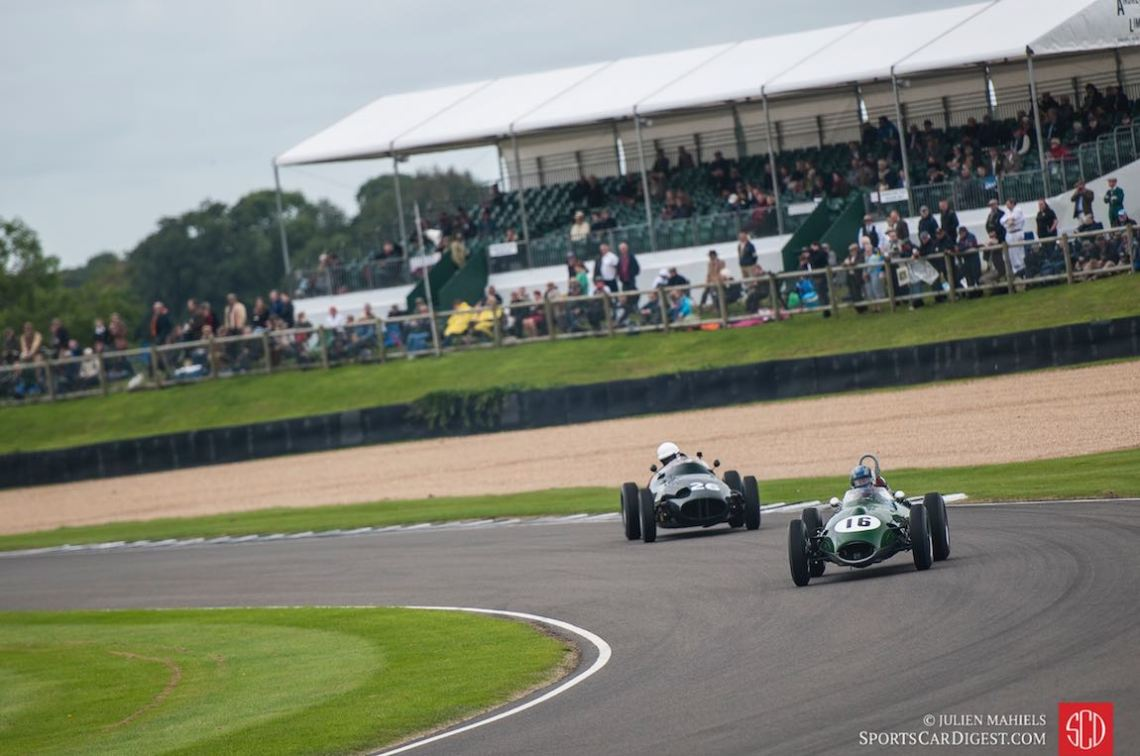 1958 Lotus-Climax 16 and 1958 BRM Type 25