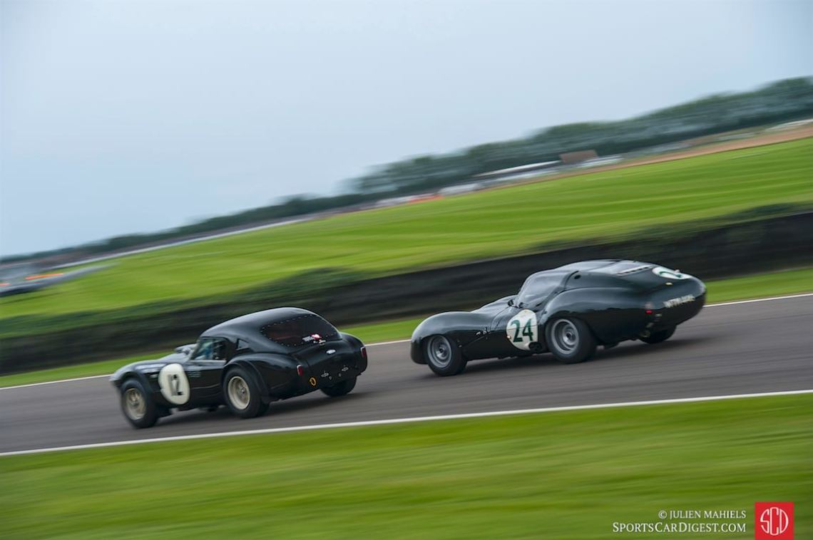 1963 AC Cobra and 1963 Lister-Jaguar Coupe