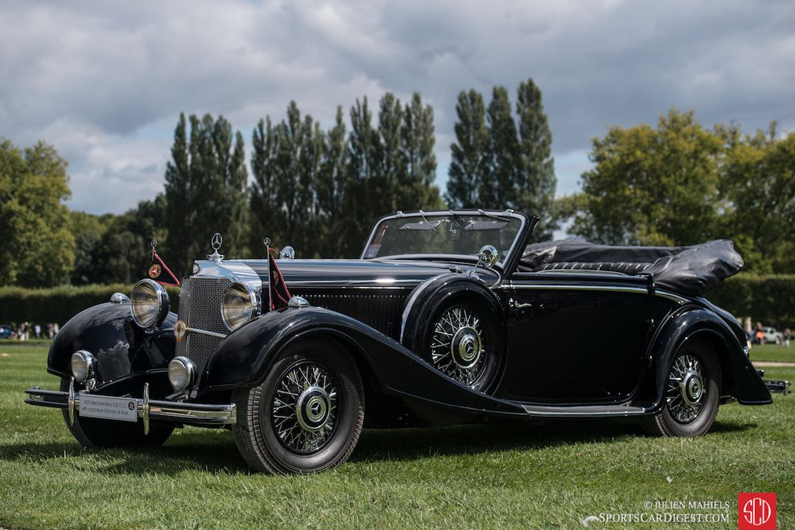 Chantilly Concours d'Elegance 2015 - Photos, Results