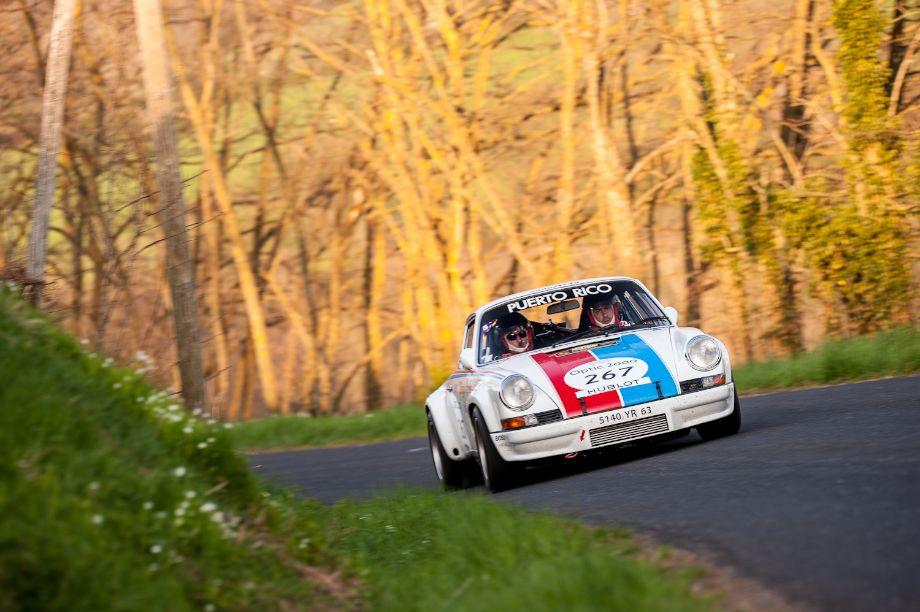 1973 Porsche 911 RSR 2.8 at the Tour Auto Rally (photo: Julien Mahiels)