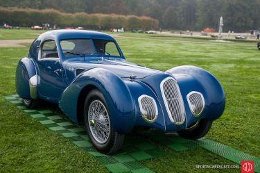 1939 Talbot Lago T150 C SS Pourtout Coupe