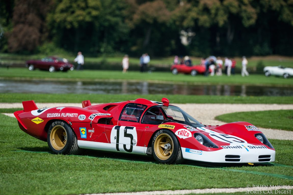 Chantilly Arts And Elegance Concours 2014
