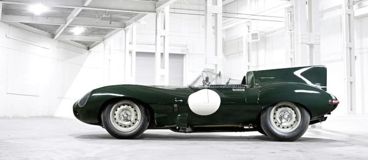 Jaguar Heritage D-Type 1955