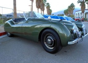 Jaguar XK120 offered at Phoenix Classic Car Auction