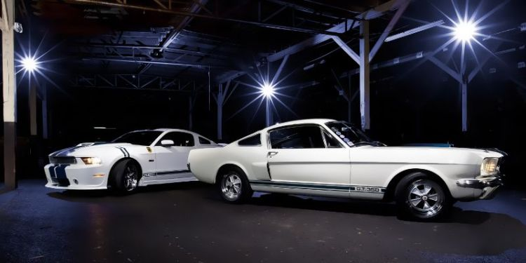 Mustangs will be featured at the 2013 Keeneland Concours