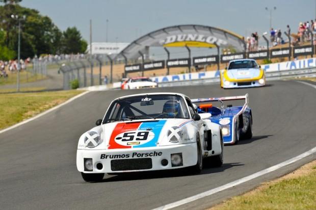 Porsche RSR at Le Mans Classic 2010