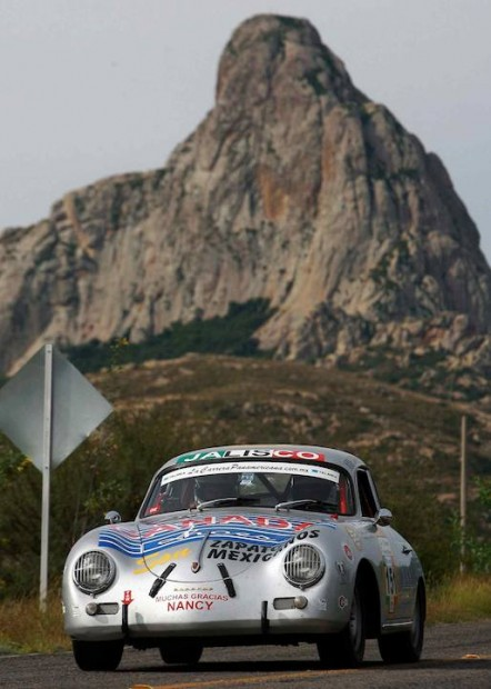 Porsche 356 of Paul Frame and Darrell Bailey