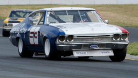 Lance Smith in his 1968 Chevrolet Chevelle