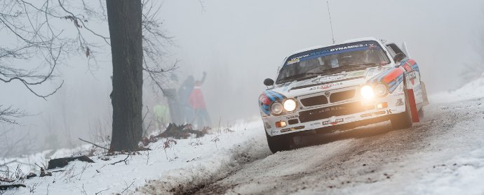 Lancia Rally 037 at Legend Boucles Spa