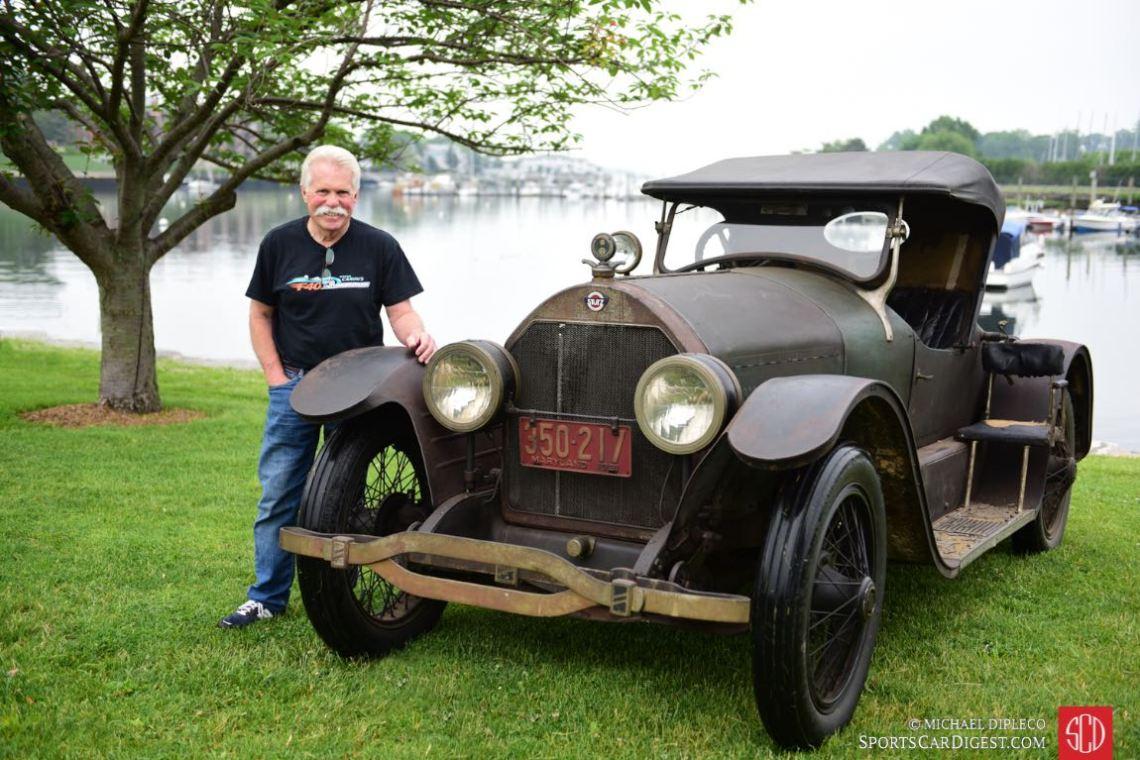 1921 Stutz Bearcat.