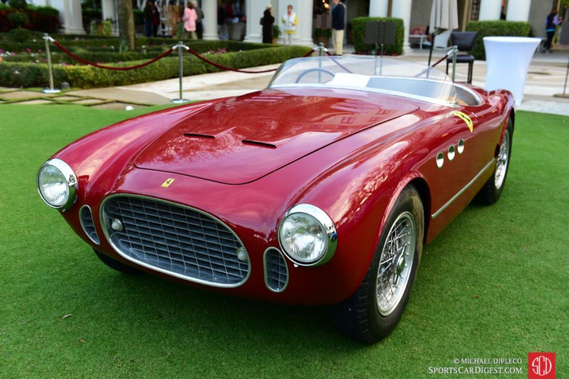 1952 Ferrari 225 S Vignale Spyder- s/n: 0192ET.
