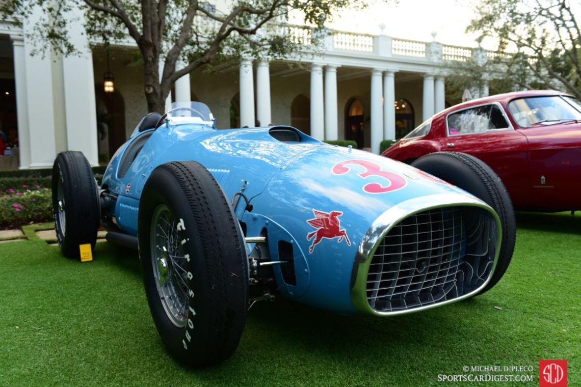 1952 Ferrari 375 INDY F1- s/n: 3.